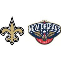 New Orleans Pelicans and Saints